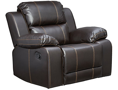 Laramie III Brown Glider Recliner, , large
