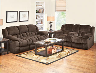 Memphis 7 Piece Room Package, Chocolate, , large
