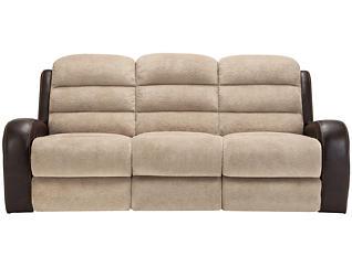 Clark Reclining Sofa, Beige, , large
