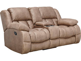 Memphis Reclining Console Loveseat, , large