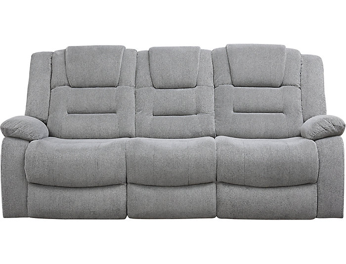 Miraculous Domain Dual Power Reclining Sofa Pabps2019 Chair Design Images Pabps2019Com