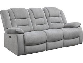 Domain Ash Dual Power Reclining Sofa, , large