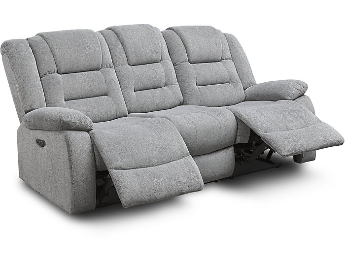 Pleasing Domain Dual Power Reclining Sofa Uwap Interior Chair Design Uwaporg