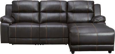 3pc reclining sofa chaise
