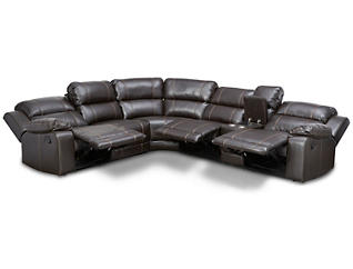 Laramie III 6-Piece Reclining Sectional, , large
