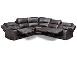 Laramie III 5-Piece Reclining Sectional, , large