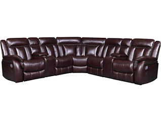 Agnes 3PC Reclining Sectional, , large