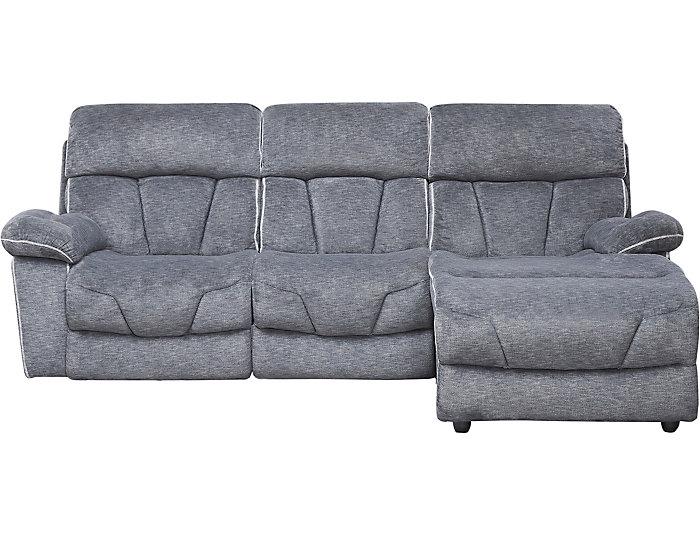 Gladiator Power Reclining Sofa Chaise