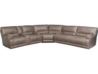 Fabulous Blake 3 Piece Power Reclining Sectional Inzonedesignstudio Interior Chair Design Inzonedesignstudiocom
