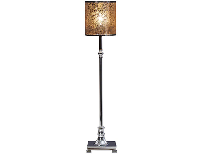 Glass Shade Buffet Lamp, , large