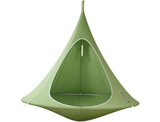 Double Green Hanging Cacoon, , large