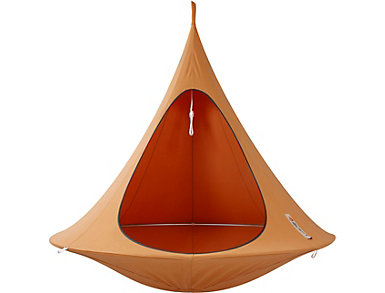 Double Orange Hanging Cacoon, , large