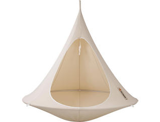 Double White Hanging Cacoon, , large