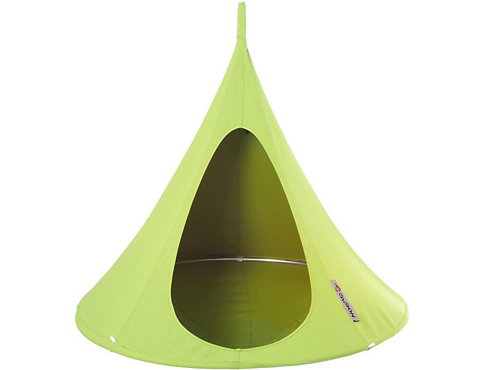 Single Green Hanging Cocoon, , large