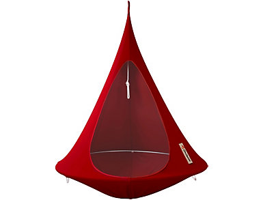 Single Red Hanging Cocoon, , large