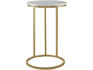 Ritz Round C Side End Table, , large