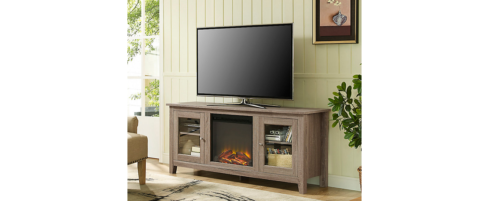 Kent Fireplace TV Collection, , large