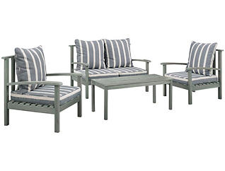 Austin 4pc Chat Set, , large