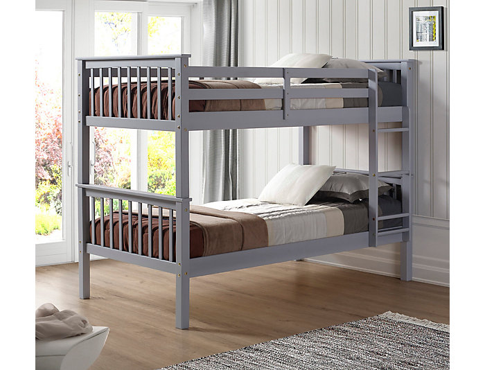 Willow Twin Bunkbed W/ Trundle, , large