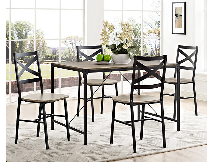Cole 5 Piece Dining Room Set, , large