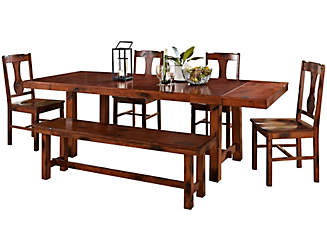 Rocky 6 Piece Dining Room Set