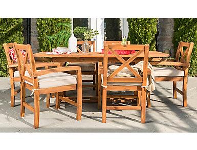Essex 7p Juno Dining Set, , large