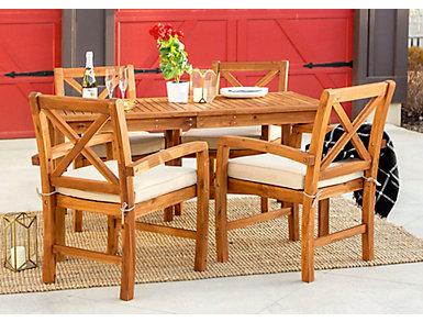 Haiti 5pc Juno Dining Set, , large