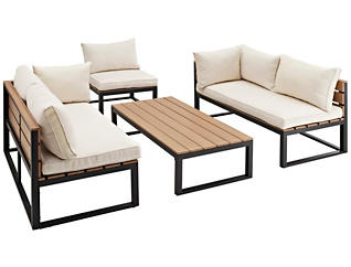 Kent 4pc Seating Set, , large