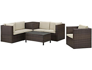 Miami 7pc Seating Set, , large