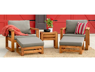 Panama 5pc Seating Set, , large