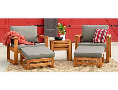 Panama 5pc Seating Set, , large