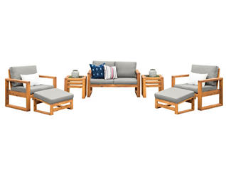 Panama 7pc Seating Set, , large
