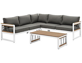Peyton 4pc Sectional Set, , large