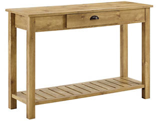 Luton Barnwood Console Table, , large