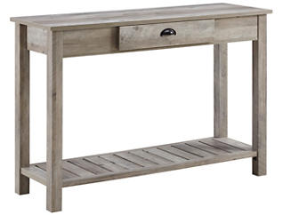 Luton Grey Entry Console Table, , large