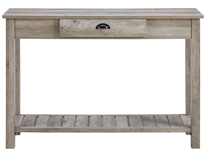 Luton Entry Console Table, Grey, , large