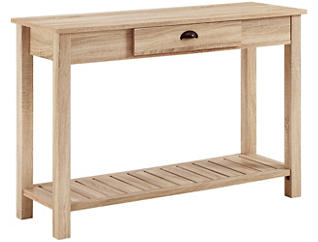 Luton Natural Console Table, , large