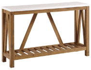 shop Luton-48--Walnut-Console-Table