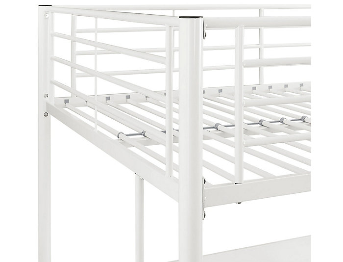Kylie White Full Loft Bed, , large