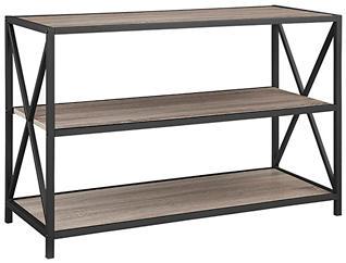 """Austin 40"""" Driftwood Bookcase, , large"""