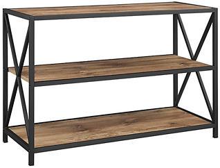 """Austin 40"""" Barnwood Bookcase, , large"""