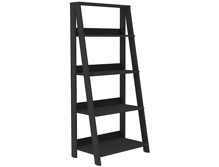 "Bailey 55"" Black Bookshelf, , large"