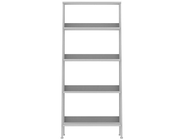 "Bailey 55"" White Bookshelf, , large"