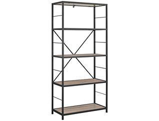 """Austin 60"""" Driftwood Bookcase, , large"""