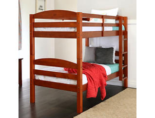 Max Cherry Twin Bunk Bed, , large