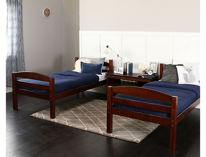Max Espresso Twin Bunk Bed, , large