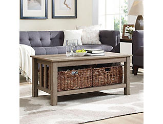 Cottage Driftwood Coffee Table, Drift, , large