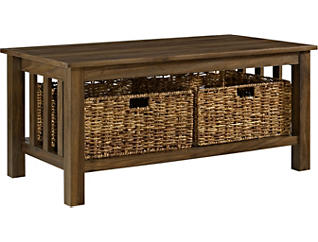 Cottage Storage Coffee Table, , large