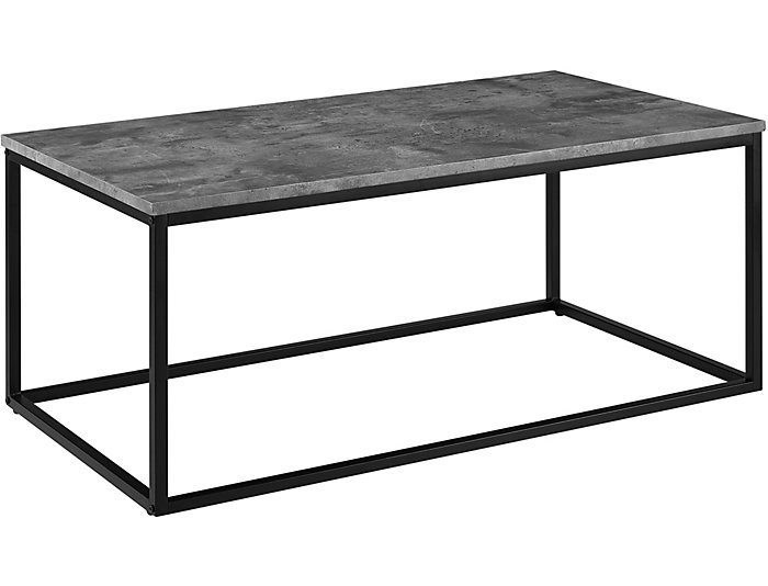 Leeds Concrete Coffee Table Large