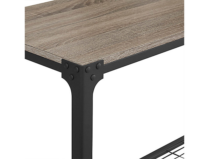 Fin Driftwood Sofa Table, , large